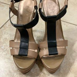 BCBG Paris platform heels
